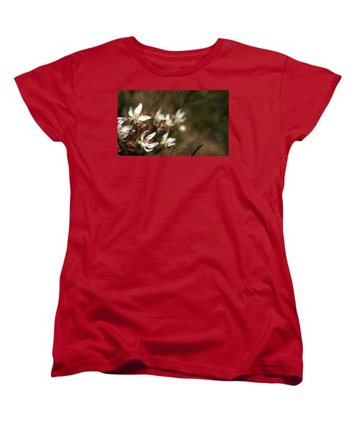 Women's T-Shirt (Standard Cut) featuring the photograph Wildflowers by Marna Edwards Flavell
