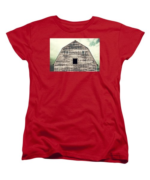 Women's T-Shirt (Standard Cut) featuring the photograph Window To The Soul by Julie Hamilton