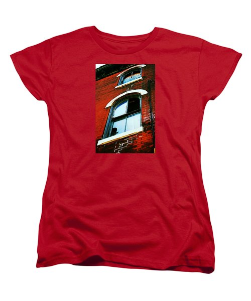 Windows Women's T-Shirt (Standard Cut) by Christopher Woods