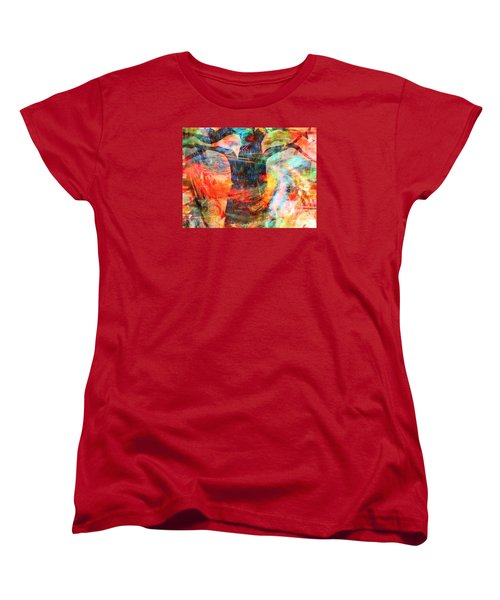 Windy Moments Women's T-Shirt (Standard Cut) by Fania Simon