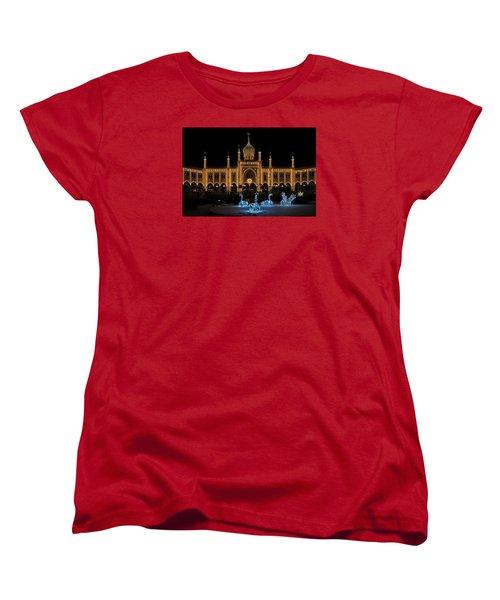 Winter In Tivoli Gardens Women's T-Shirt (Standard Cut)