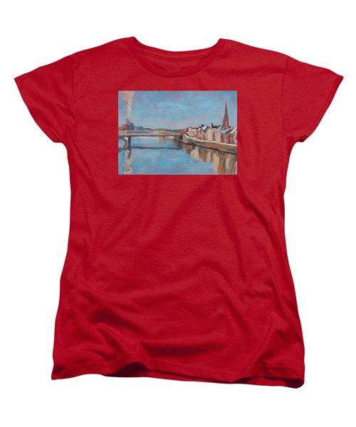Winter In Wyck Maastricht Women's T-Shirt (Standard Fit)
