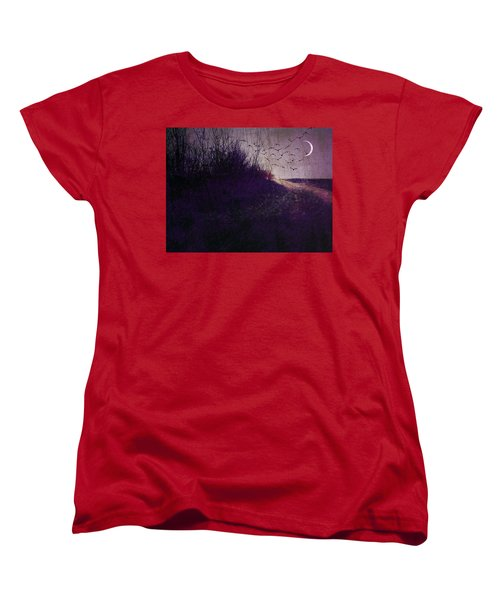Winter To Spring The Promise Of New Life. Women's T-Shirt (Standard Cut) by Michele Carter