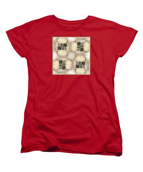 Woman Image Six Women's T-Shirt (Standard Cut) by Jack Dillhunt