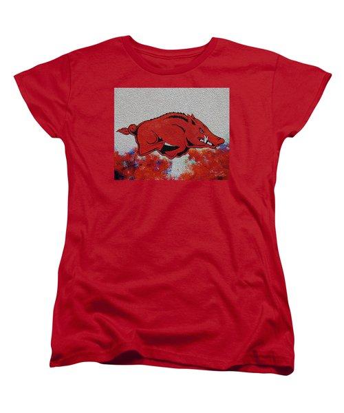 Woo Pig Sooie 2 Women's T-Shirt (Standard Cut) by Belinda Nagy