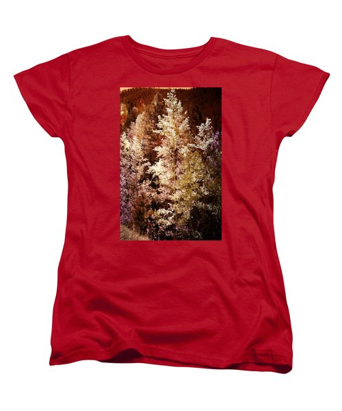Woodland Beauty Women's T-Shirt (Standard Cut) by Joseph Frank Baraba