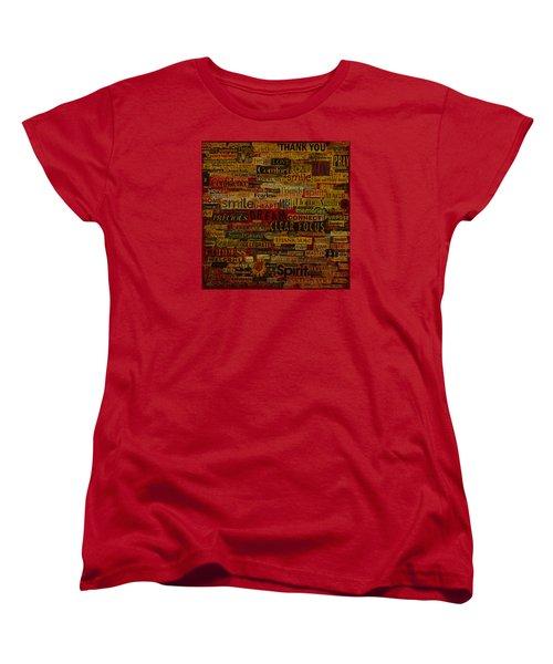 Words Matter Women's T-Shirt (Standard Cut) by Gloria Rothrock