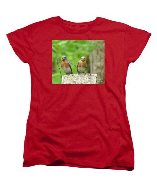 Working Couple Women's T-Shirt (Standard Cut)