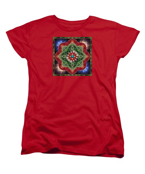 Women's T-Shirt (Standard Cut) featuring the photograph World-healer by Bell And Todd