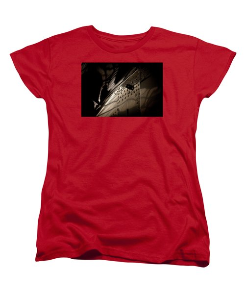 Women's T-Shirt (Standard Cut) featuring the photograph Wow, Look At The Reflections by Paul Job