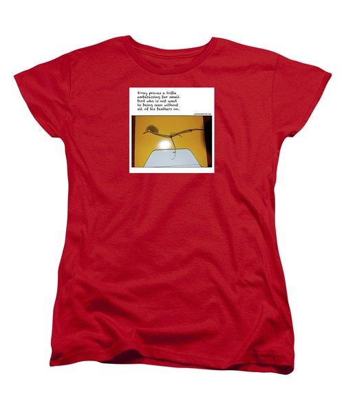 X-ray Bird Women's T-Shirt (Standard Cut) by Graham Harrop