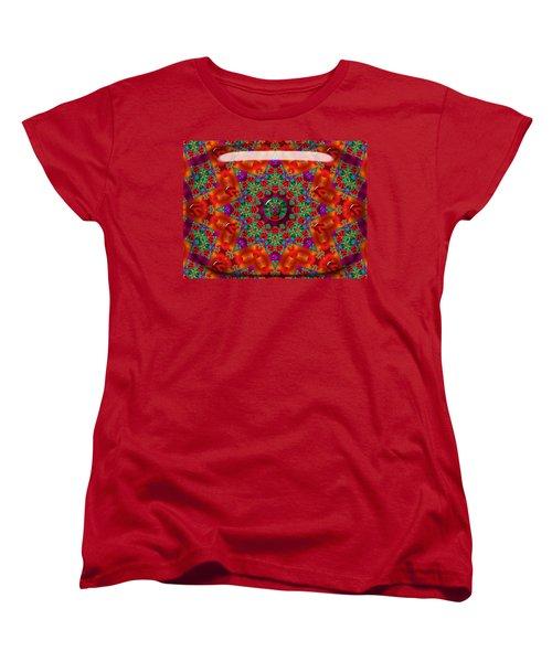 Women's T-Shirt (Standard Cut) featuring the digital art Xmas by Robert Orinski