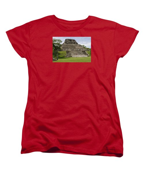 Xunantunich   Women's T-Shirt (Standard Cut) by Glenn Gordon