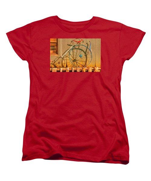 Yankey Doodle Ingenuity Women's T-Shirt (Standard Cut) by Daniel Hebard