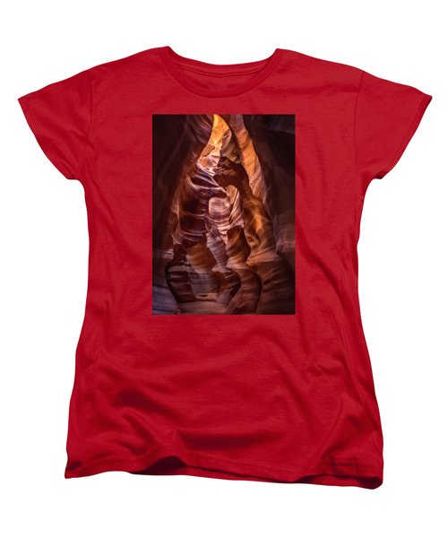 Women's T-Shirt (Standard Cut) featuring the photograph Years In The Making by Eduard Moldoveanu