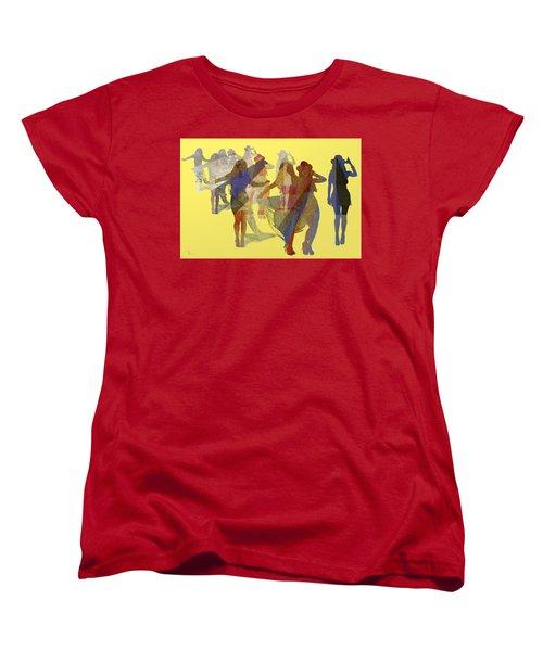 Yellow Dance Women's T-Shirt (Standard Cut)