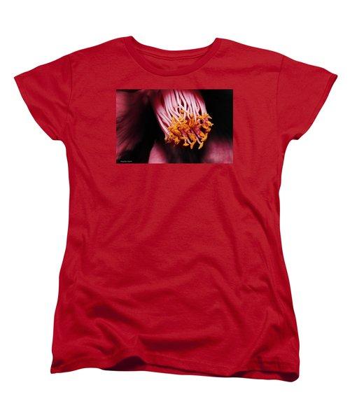 Yellow Pollen 01 Women's T-Shirt (Standard Cut) by Kevin Chippindall