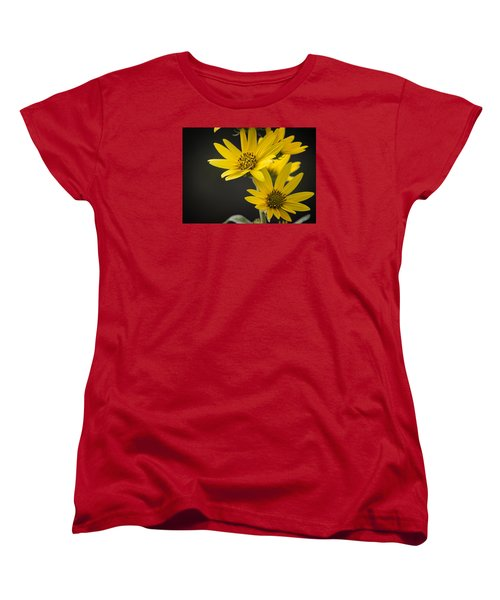 Yellow Women's T-Shirt (Standard Cut)