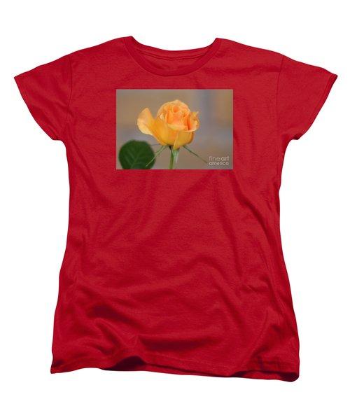 Yellow Rose Of Texas Women's T-Shirt (Standard Cut) by Joan Bertucci