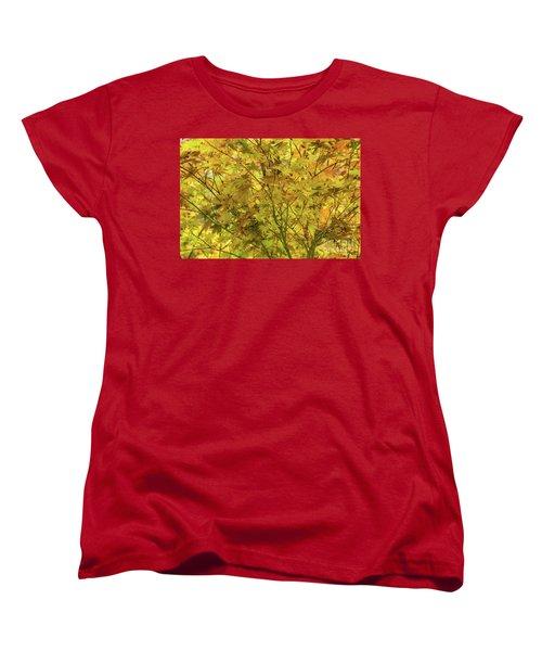 Yellow Spring Women's T-Shirt (Standard Cut) by Iris Greenwell