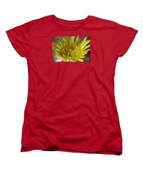 Yellow Yellow Women's T-Shirt (Standard Cut) by Yumi Johnson