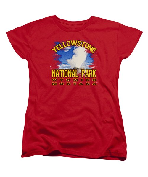 Yellowstone National Park Women's T-Shirt (Standard Cut)