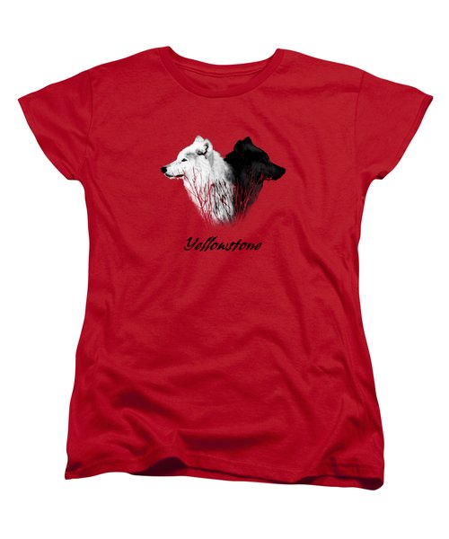 Yellowstone Wolves T-shirt Women's T-Shirt (Standard Cut)