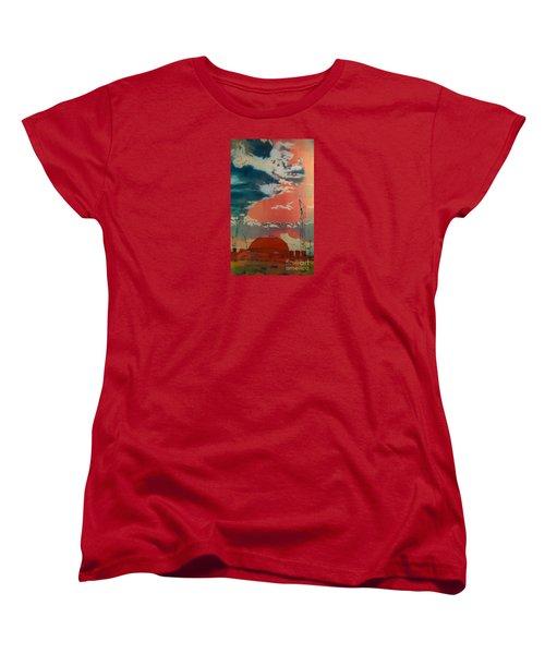 Yin And Yang Women's T-Shirt (Standard Cut) by Elizabeth Carr