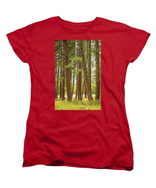 Women's T-Shirt (Standard Cut) featuring the photograph Yosemite by Jim Mathis