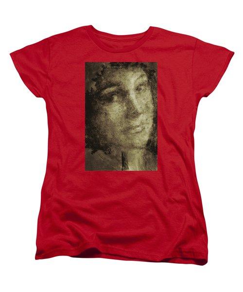 Young Mother Nature Digital Painting Women's T-Shirt (Standard Cut)