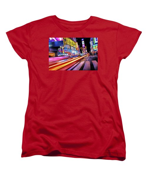 Women's T-Shirt (Standard Cut) featuring the photograph Zip by Az Jackson