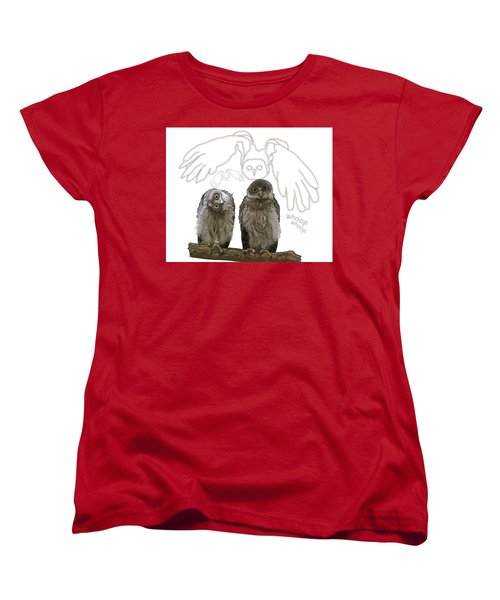 O Is For Owl Women's T-Shirt (Standard Fit)