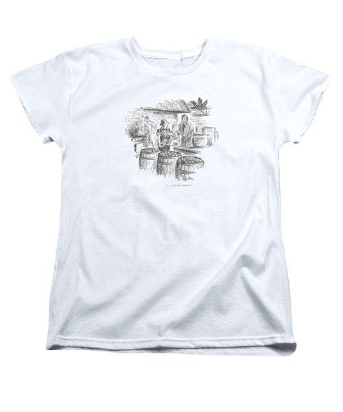 . . . And Don't Nibble! Women's T-Shirt (Standard Cut)