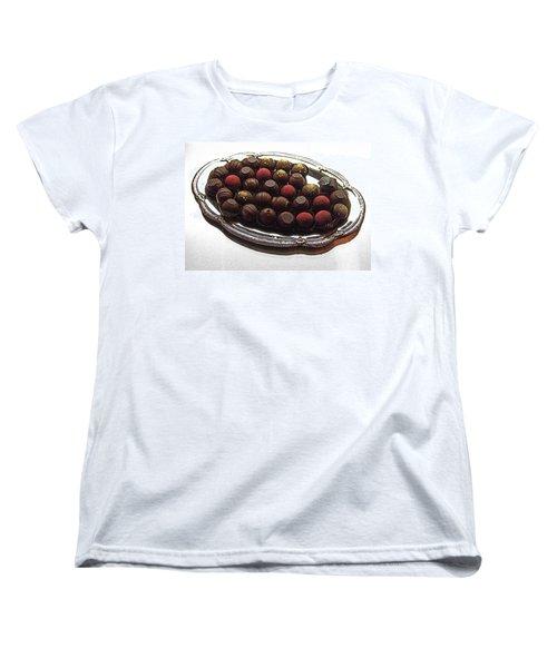 Chocolates Women's T-Shirt (Standard Cut) by David Pantuso