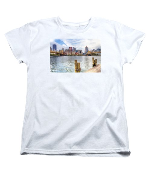 0310 Pittsburgh 3 Women's T-Shirt (Standard Cut) by Steve Sturgill