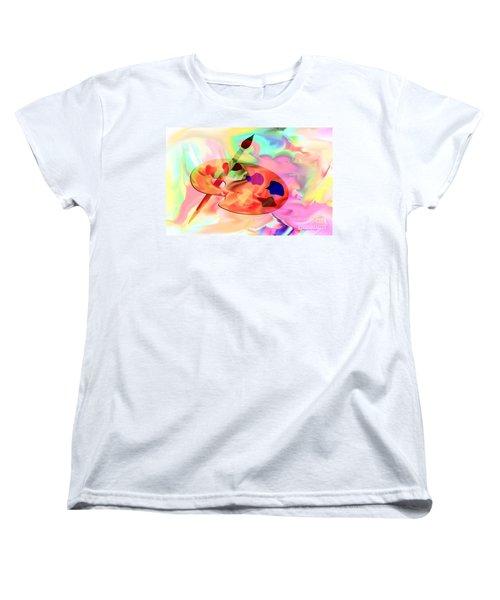 Artist Palette Women's T-Shirt (Standard Cut)