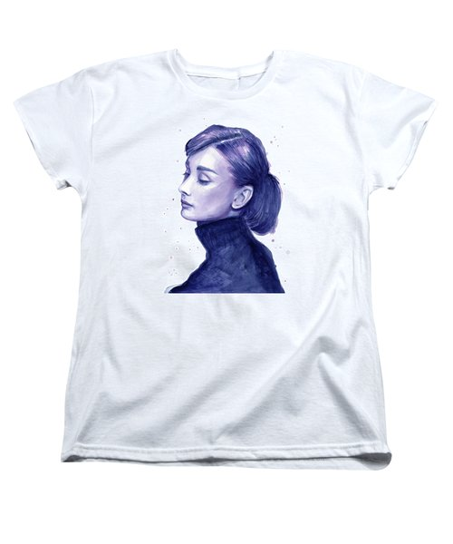 Audrey Hepburn Portrait Women's T-Shirt (Standard Cut)