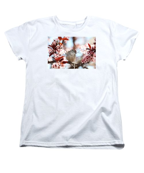 Beautiful Sparrow Women's T-Shirt (Standard Cut) by Trina  Ansel