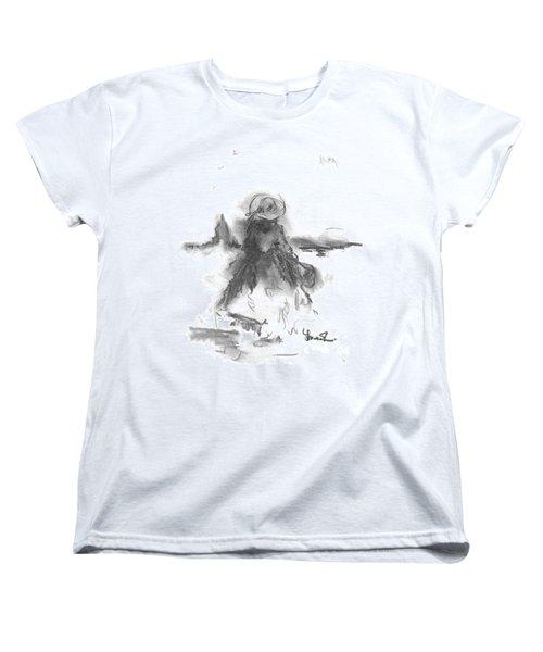 Being Happy Women's T-Shirt (Standard Cut)
