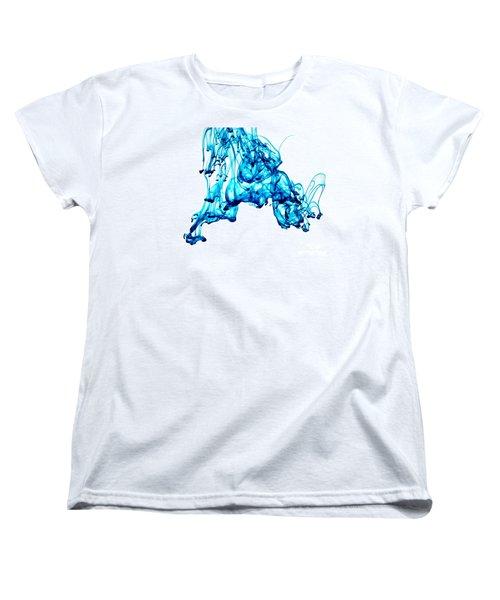 Blue Descent Women's T-Shirt (Standard Cut) by Liz Masoner