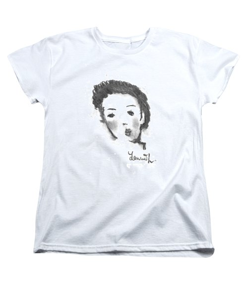 Women's T-Shirt (Standard Cut) featuring the drawing Bubble Gum by Laurie L