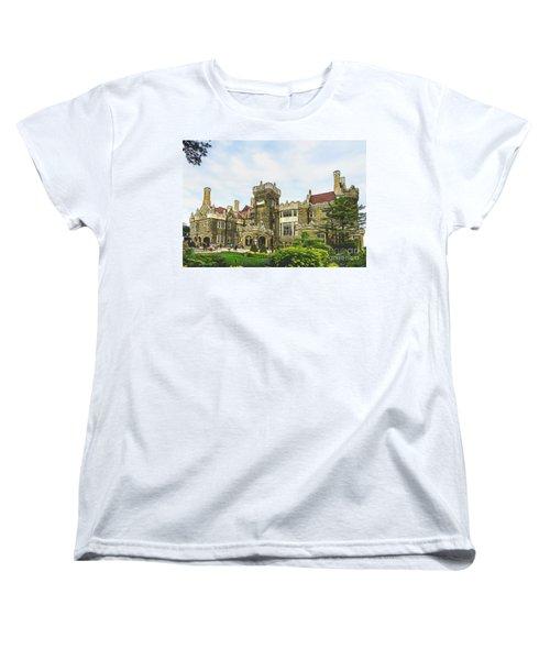 Casa Loma In Toronto Women's T-Shirt (Standard Cut) by Les Palenik