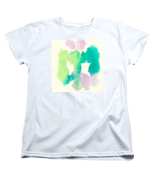 Women's T-Shirt (Standard Cut) featuring the painting Cocoon by Frank Bright