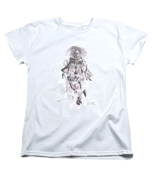 Dancing Clown Women's T-Shirt (Standard Cut) by Laurie L
