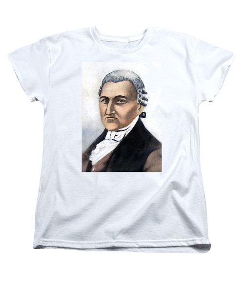 Women's T-Shirt (Standard Cut) featuring the painting David Brearley (1745-1790) by Granger