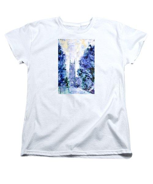 Duke Chapel Women's T-Shirt (Standard Cut)