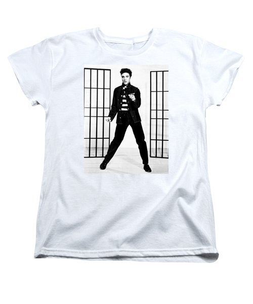 Elvis Presley Women's T-Shirt (Standard Cut) by Doc Braham