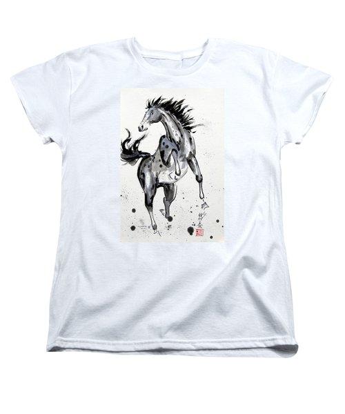 Exuberance Women's T-Shirt (Standard Cut) by Bill Searle