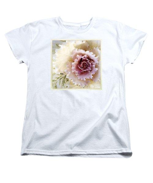 Flower Women's T-Shirt (Standard Cut) by Les Cunliffe