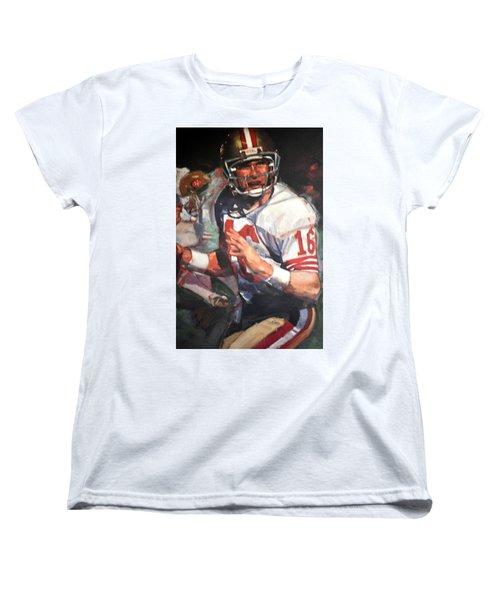 Joe Montana Women's T-Shirt (Standard Cut)